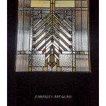 Farrell's Art Glass stained glass window in the Frank Lloyd Wright Style