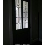 Stained glass door by Farrell's Art Glass