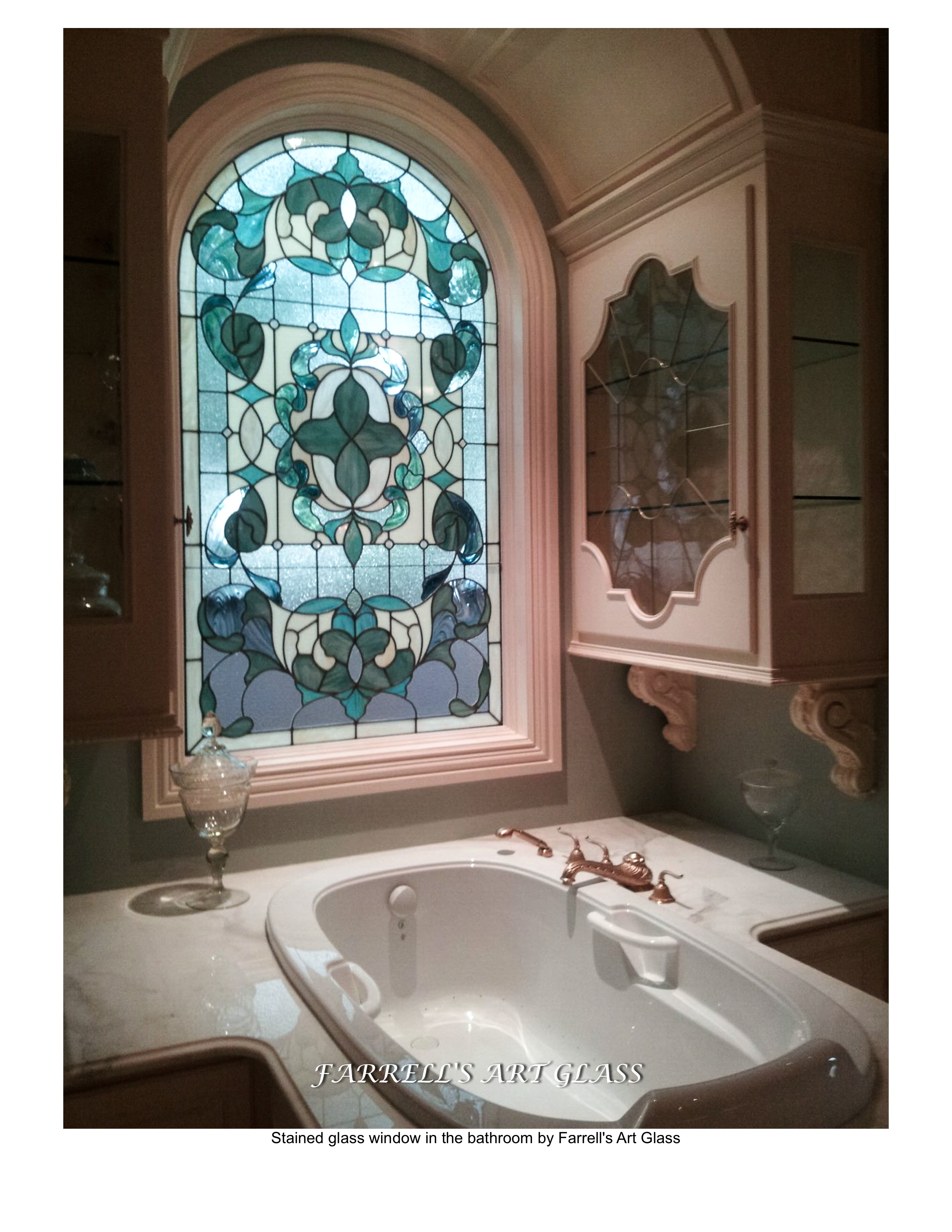 Best of stained glass for bathroom window wallpaper for Best glass for windows